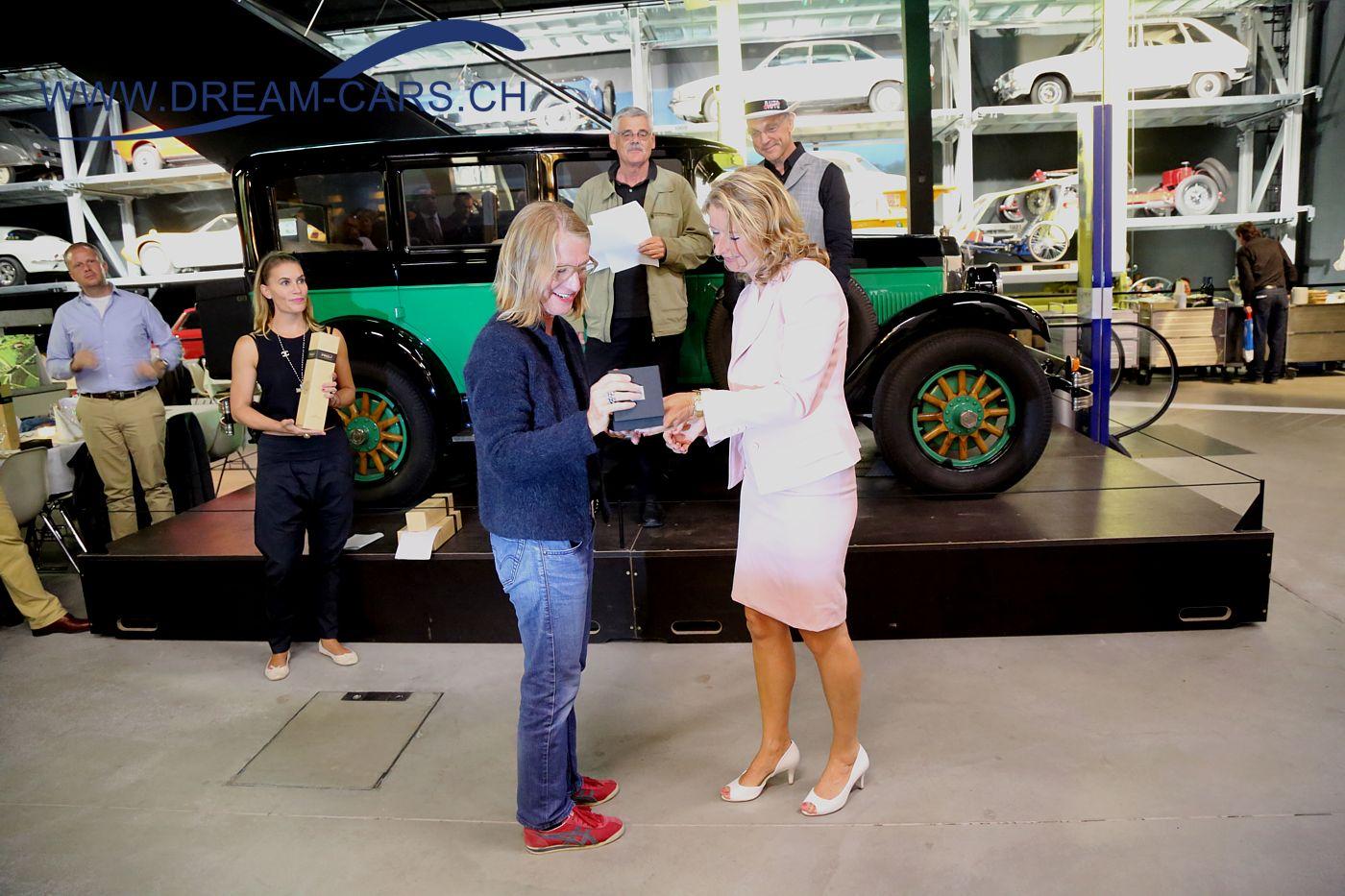 Concours d'Excellence Luzern, 17. September 2016. Preisverleihung im Verkehrshaus Luzern