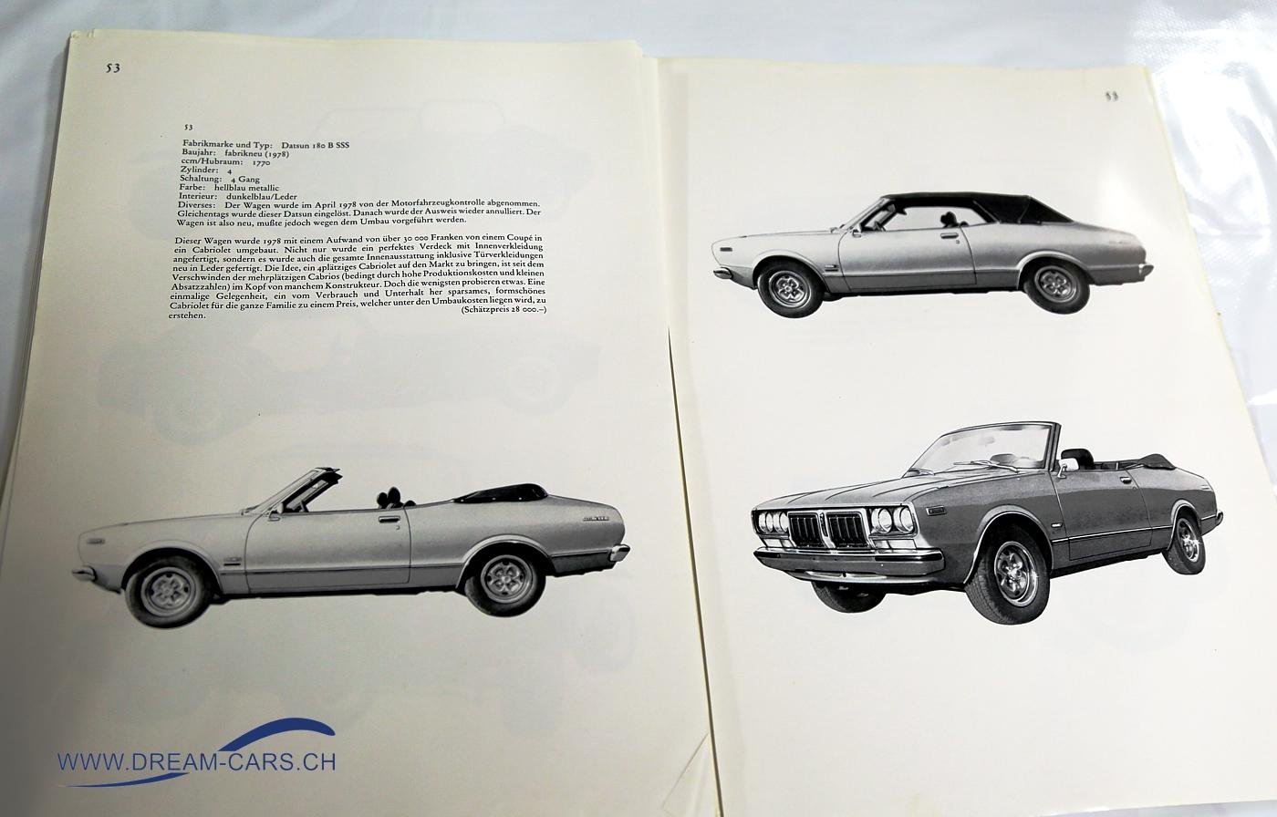 Datsun 180 B SSS Caruna