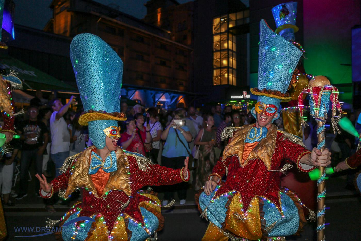 Einbecker Oldtimertage im PS.SPEICHER, 20. - 22. Juli 2018. Bunte Kostüme und tausende von Lichtern verzauberten das Areal des PS.SPEICHER