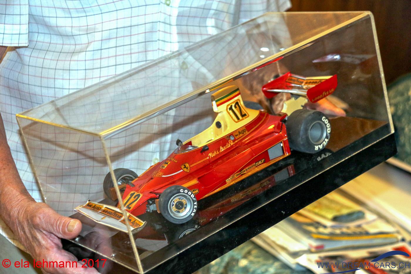 Rennwagen Niki Lauda Ermanno Cuoghi
