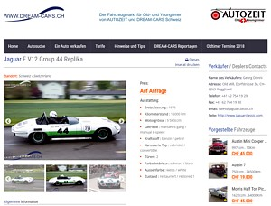 Fahrzeugmarkt www.dream-car.ch
