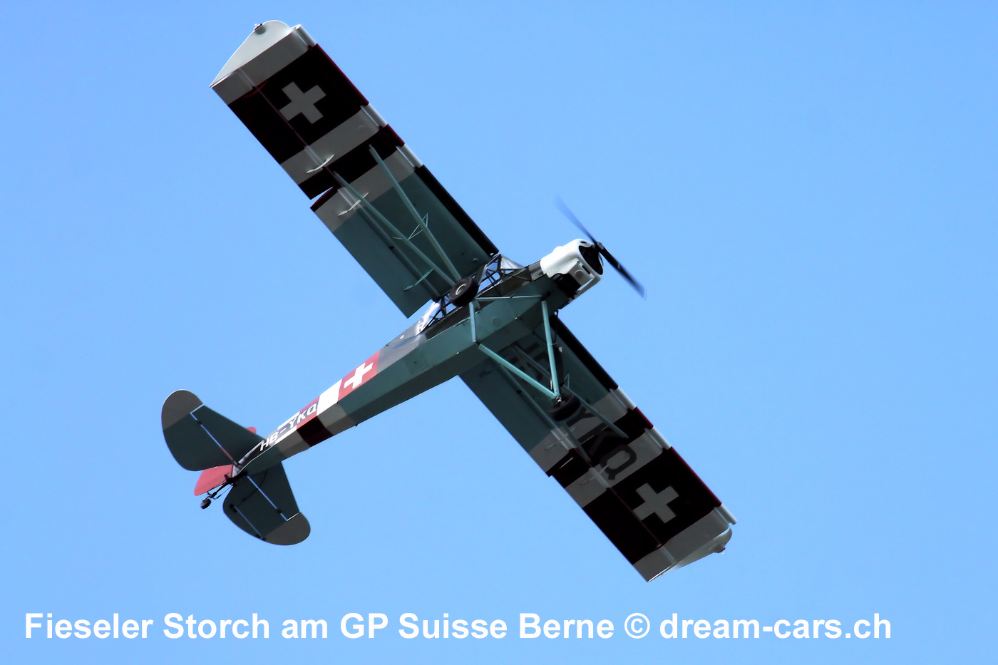 Fieseler Storch am GP Suisse Berne Memorial 2018