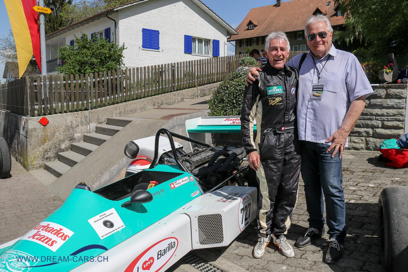Fredy Amweg und Ueli Schneiter