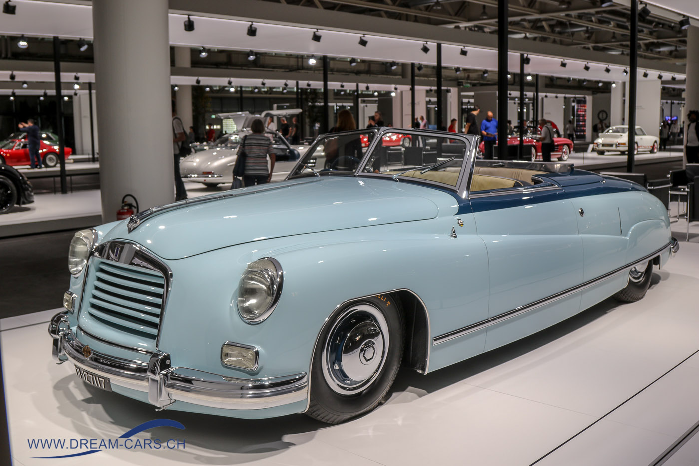 Isotta Fraschini Monterosa Cabriolet 1948