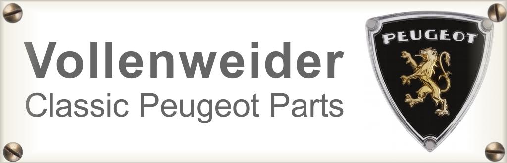 Vollenweider Fahrzeuge Peugeot Classic Parts