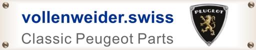 Peugeot, Teile, Vollenweider,