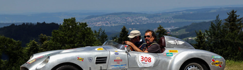 Heidiland Classic, 15. - 17. Juni 2018. Sepp Wagner aus Bad Ragaz mit Beifahrer Fredy