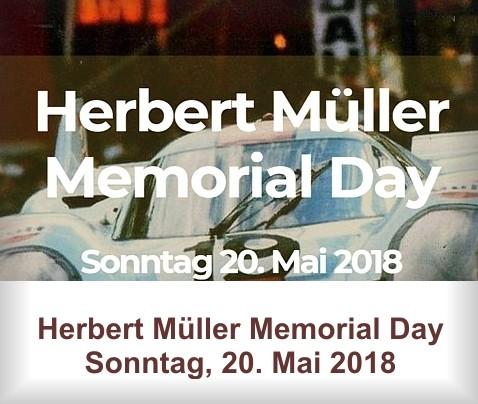 Herbert Müller Memorial Day 2018