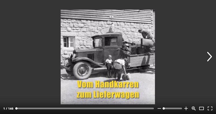 Vom Handkarren zum Lieferwagen. Sonderschau im Pantheon Basel, Muttenz