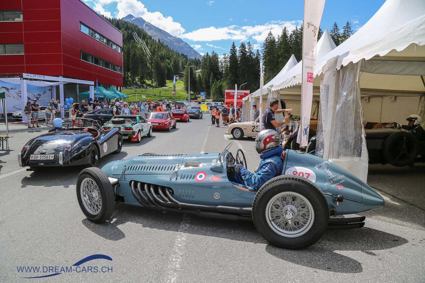 Talbot Lago Record an der Lenzerheide Motor Classics