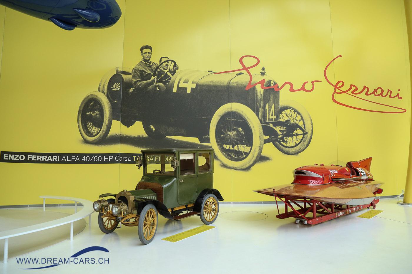 MEF - Museo Enzo Ferrari in Modena, Besuch am 20. Mai 2017