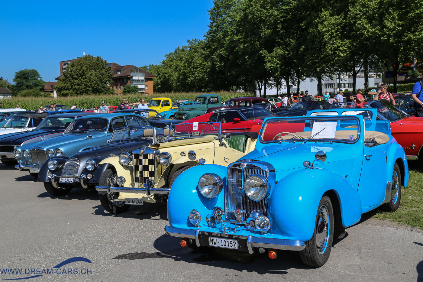 OSMT - Oldtimer Sunday Morning Treffen August 2016 auf dem Stierenmarkt Areal in Zug