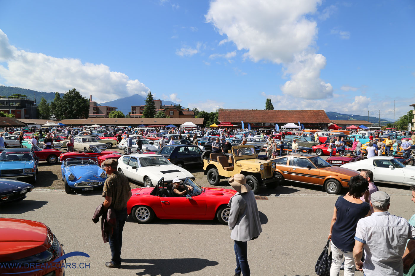 OSMT - Oldtimer Sunday Morning Treffen Zug, Juli 2016