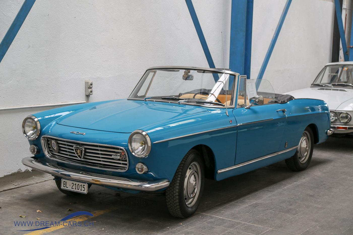 Oldtimer Klassiker der Woche Peugeot 404