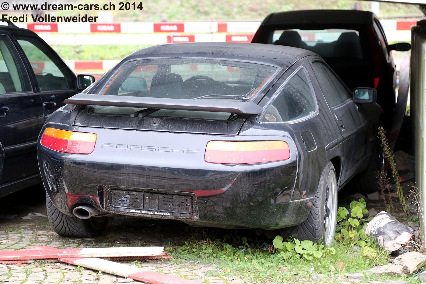 Porsche 928 Abbruch