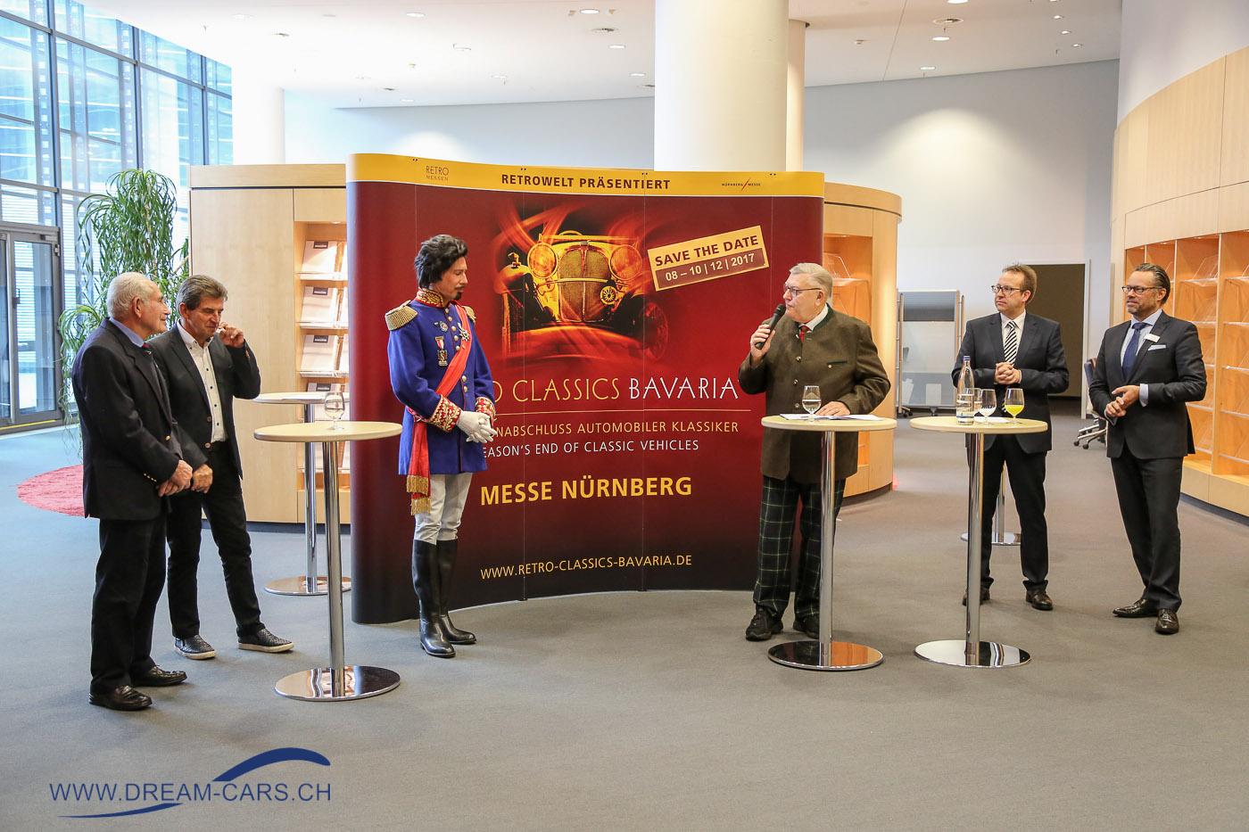 RETRO CLASSICS BAVARIA Nürnberg, Pressekonferenz