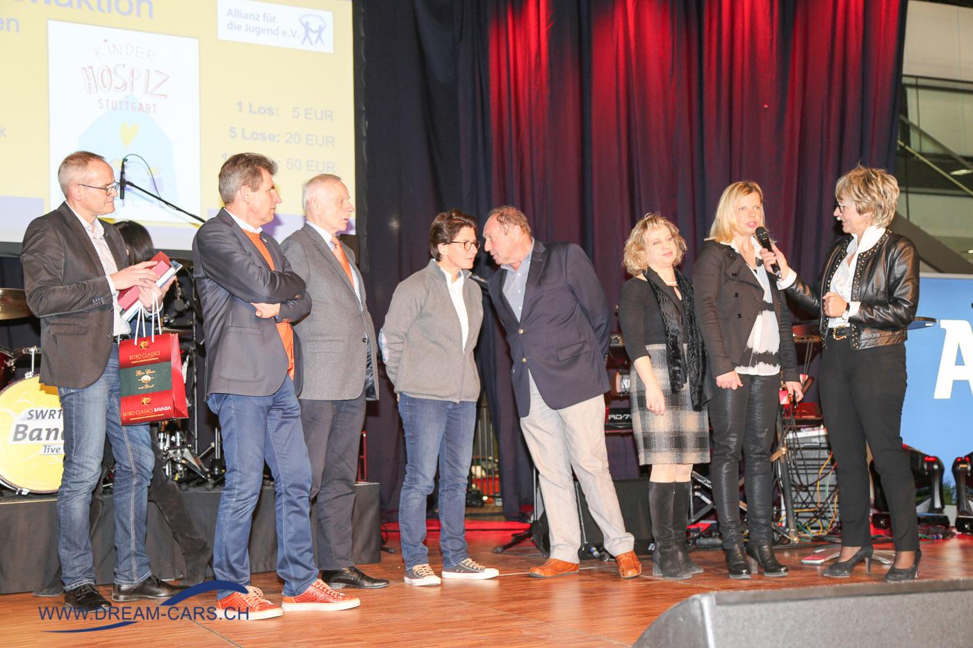 RETRO CLASSICS Stuttgart 2017. Viel Prominenz aus der Welt des Motorsports