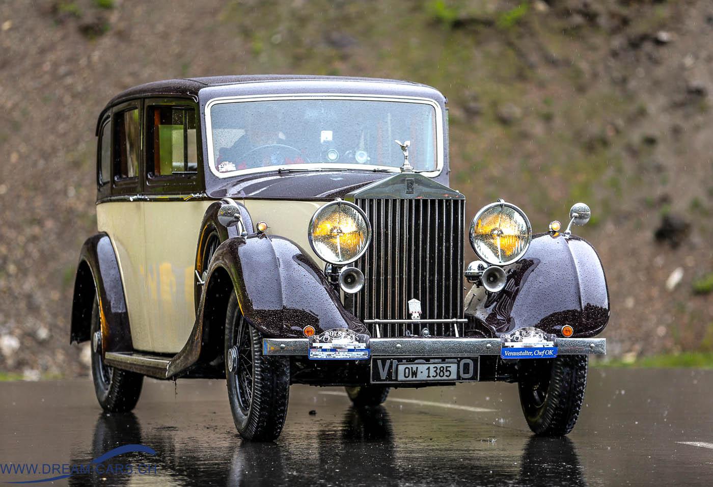 OiO - Oldtimer in Obwalden, Rolls Royce Ruedi Müller, Eventcenter Seelisberg