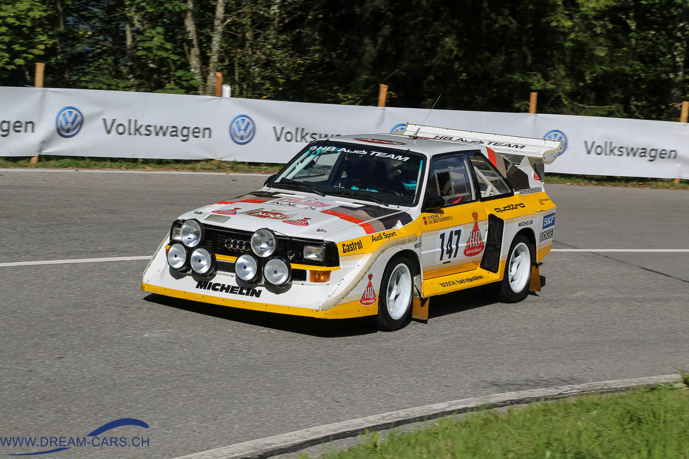 Audi Quattro S1 Harald Demuth Walter Röhrl