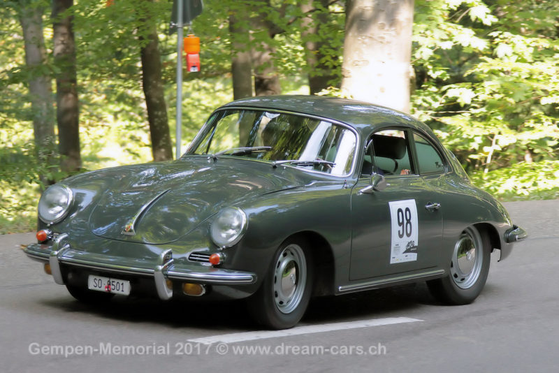 1965 Porsche 356 SC Karman Coupe