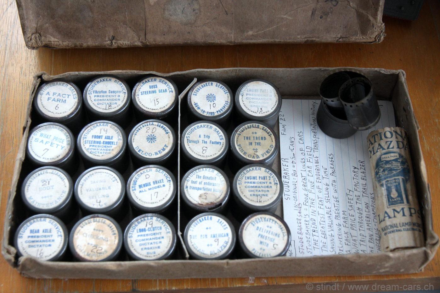Studebaker 35mm Filmstrips