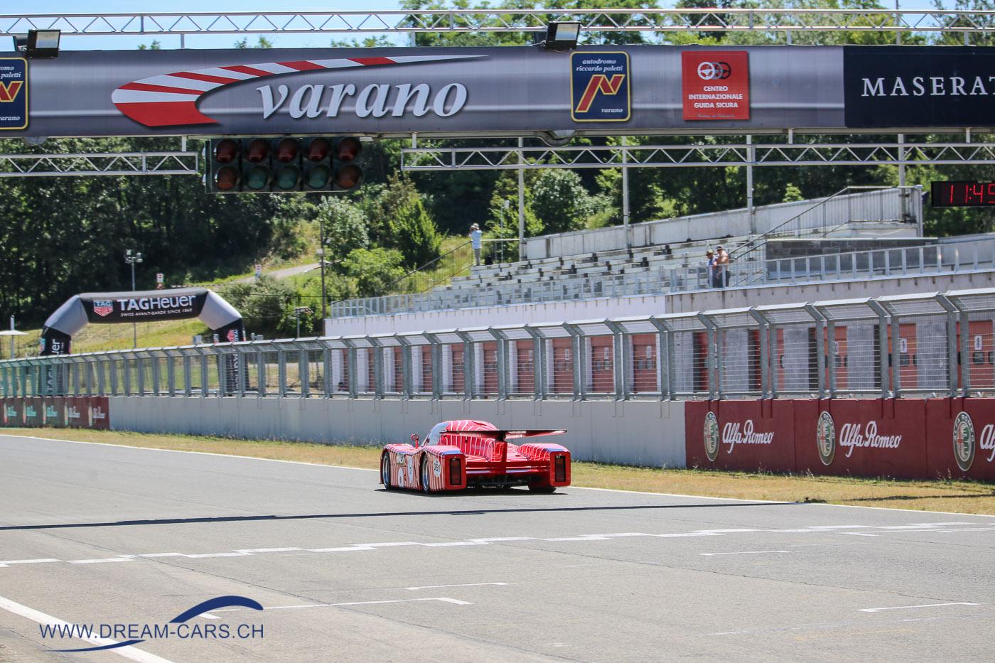 Varano Trackday, 29. Juni 2018. Peter Leuthardt mit seinem Sauber C6 aus dem Jahr 1982