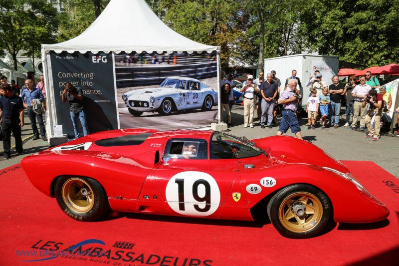 ZCCA Zürich Classic Car Award 2017. Best of Show, der Ferrari 312P aus dem Jahr 1969ZCCA Zürich Classic Car Award 2017. Best of Show, der Ferrari 312P aus dem Jahr 1969