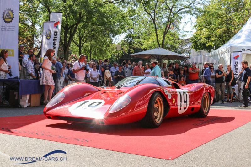 ZCCA Zürich Classic Car Award 2017. Best of Show, der Ferrari 312P aus dem Jahr 1969