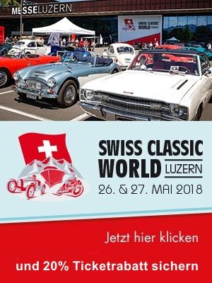 SWISS CLASSIC WORLD, Online Ticket mit 20% Rabatt